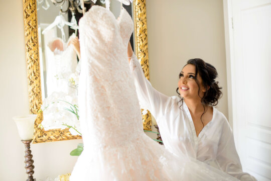Ottawa Wedding Dress in Toronto Brampton Bridal Wedding Makeup Artist MPSG Weddings